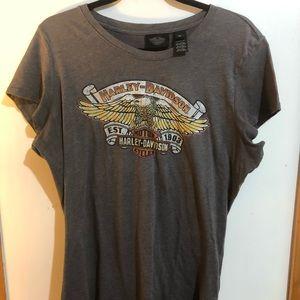 Harley Davidson Woman's short sleeve shirt